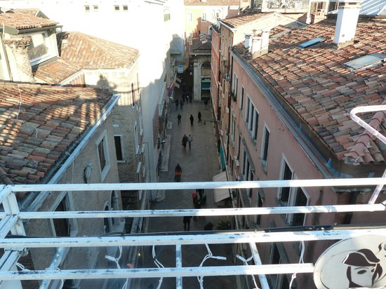 Hotel a La Commedia: roof top view from hotel
