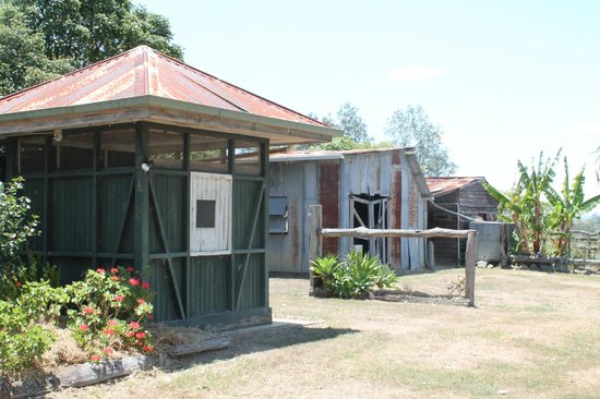 Kilcoy Farmstay: outside sheds