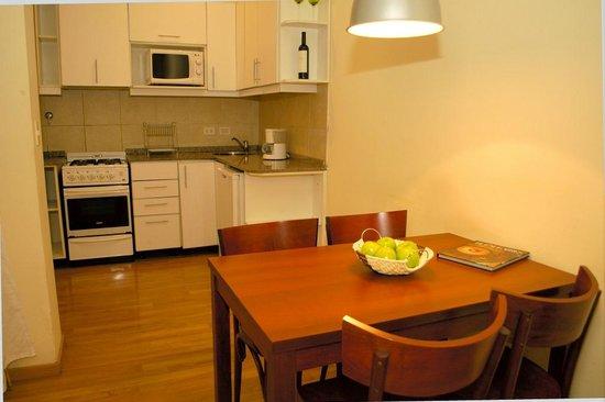 La Casona del Alma: Cocina del Big Duplex Loft N° 3