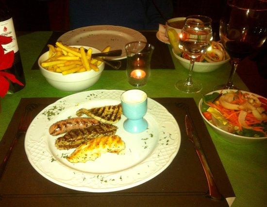 La Trattoria: Mixed grill - course 2 of menu del dia