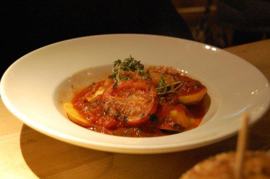The Encore : Seafood Ravioli