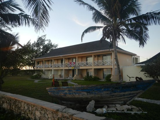 Exuma Palms Hotel: View of Hotel from Beach