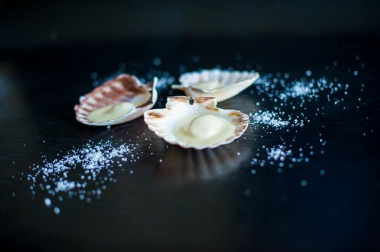 Plouider, France: Coquilles Saint-Jacques