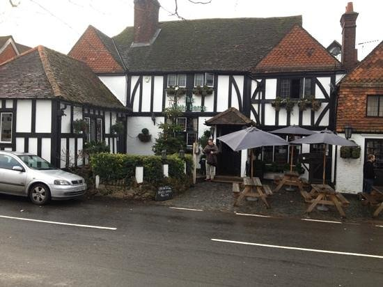 The White Horse: from the village triangle