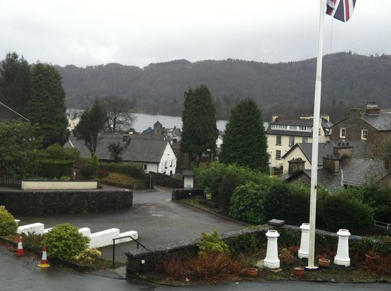 Windermere Hydro Hotel: View from room