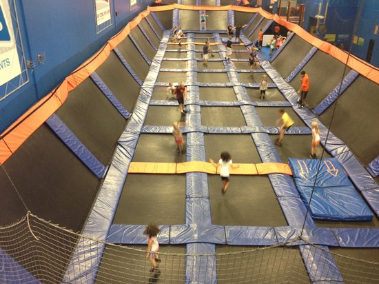 Image result for sky zone lewis center