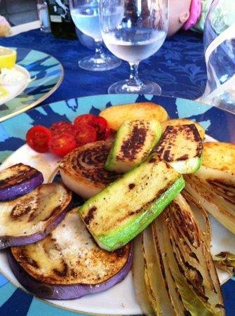 Ristorante Delfino: овощи-гриль