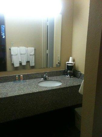 Econo Lodge Biltmore: sink area