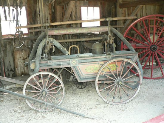 Milton House Museum: Wagon 