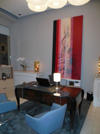 Casati Budapest Hotel: Réception