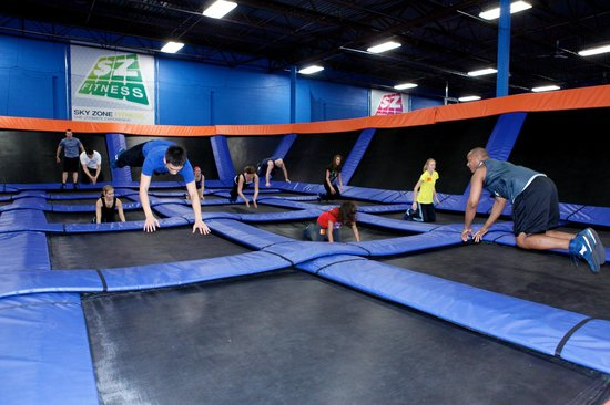 Sky Zone Trampoline Park-Columbus: SkyRobics Fitness Classes