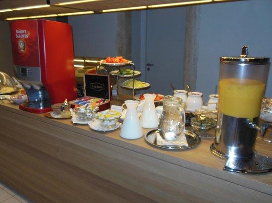 Casati Budapest Hotel: Petit déjeuner