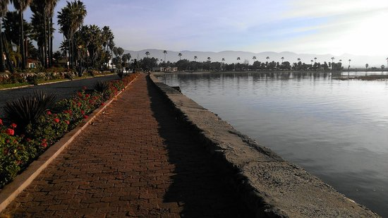 Estero Beach Hotel & Resort: Jogging/Walking Track