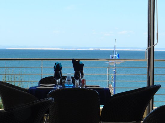 The Coachman Restaurant : view from my table
