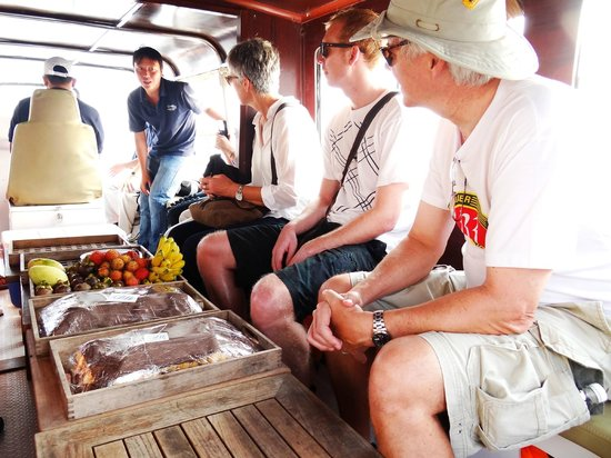 Les Rives by Saigon River Express - Day Tours: Comfortable seating inside