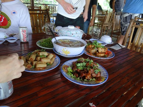Les Rives by Saigon River Express - Day Tours: Lunch after the tour