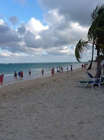 Hotel Riu Palace Punta Cana: playa del hotel