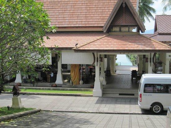 Panwa Beach Resort, Phuket: reception