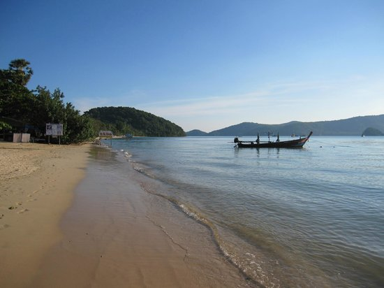 Panwa Beach Resort, Phuket: beach