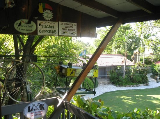 La Casa De Don David: toucan express for food and drink delivery to patio