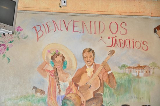 Tapatio's Restaurant Mexicano : Inside on the wall