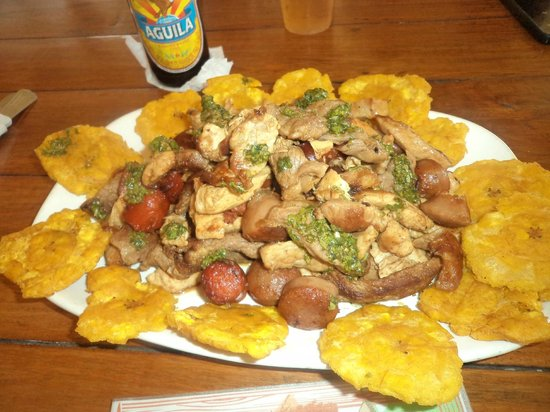 Sincelejo, Colombia: Picada mixta