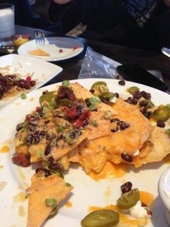 Rockford Grill : fake cheese nachos