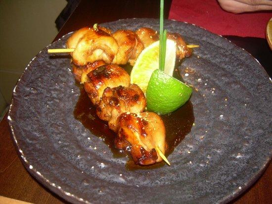 19 Sushi Bar: pollo teriyaki