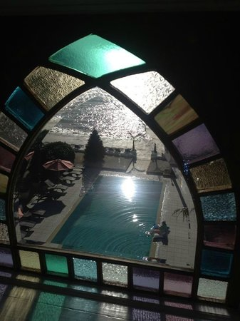 The Southernmost House Hotel: View from our room & sweet windows