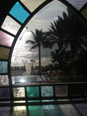 The Southernmost House: View from our room & sweet windows