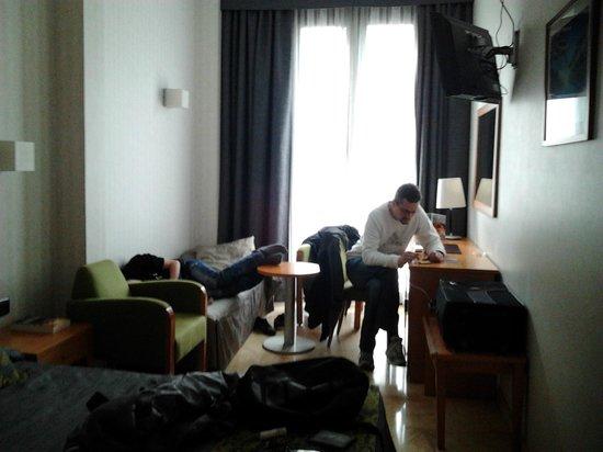 Flor Parks Hotel : CHAMBRE