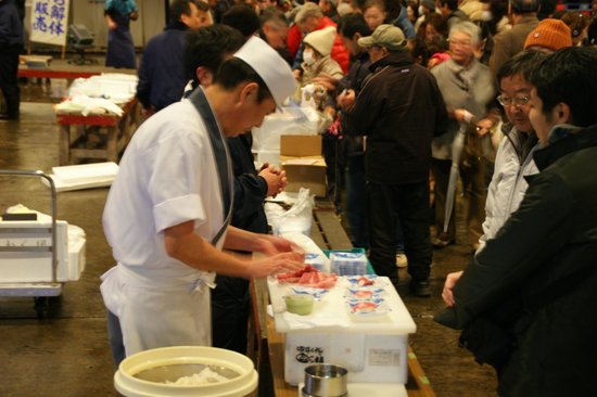 Narita, Japan: sushi demonstration