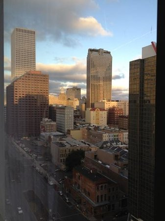 Loews New Orleans Hotel: Third view from King room