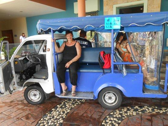 Ocean Blue & Sand: Le trolley