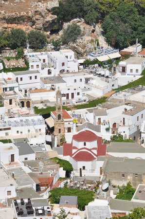 negozi lindos - Picture of Village of Lindos, Lindos ...