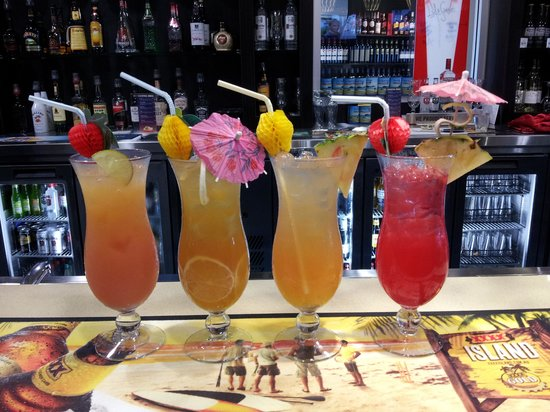 The Surf Club Palm Cove : Refreshing mocktails