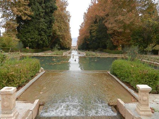 Kerman, Iran: Views to Lower Gardens