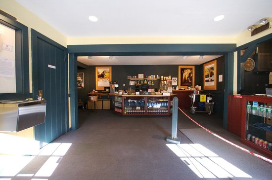 Bantam Cinema: Entrance : Box Office and Concessions