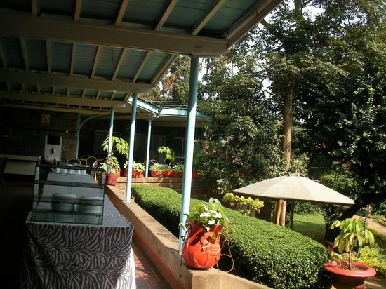 "YMCA Nairobi (Central Branch): The tea veranda-site of the famous ""Curruthers story""."