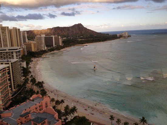 Sheraton Waikiki: view from 1 balcony