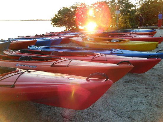A Day Away Kayak Tours: getting ready to go