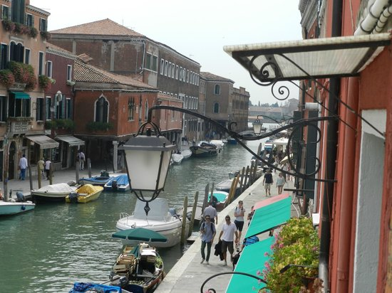 Murano Palace: View from our balcony.