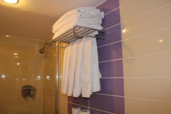 Antik Hotel Istanbul: Bathroom
