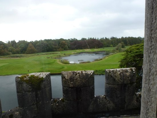 Adare Manor: Looking out over golf course