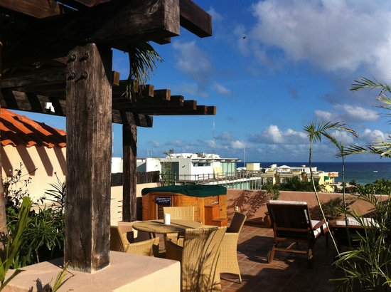 Acanto Boutique Hotel and Condominiums Playa del Carmen Mexico: Ocean View