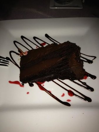 The Plaza Bistro: triple chocolate