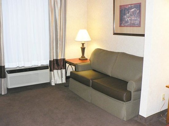 Comfort Suites: Lounge area