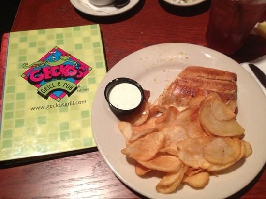 Gecko's Grill & Pub: Cuban sandwich
