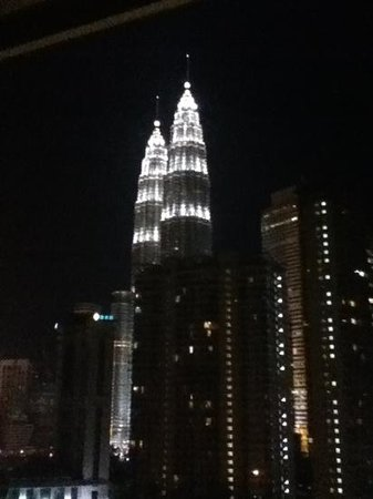 Concorde Hotel Kuala Lumpur: Amazing view from our room- 19th floor