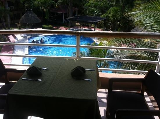 Hotel Marbrissa: comedor